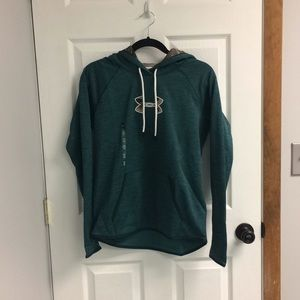 NEW WITH TAGS Under Amour Turquoise Hoodie